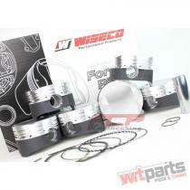 AUDI / VW 1.8T 20V STROKER WISECO PISTONS CR 8.5 82.5MM KE200M825